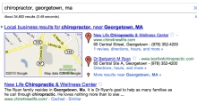 Local Search Result for: Chiropractor, Georgetown, MA